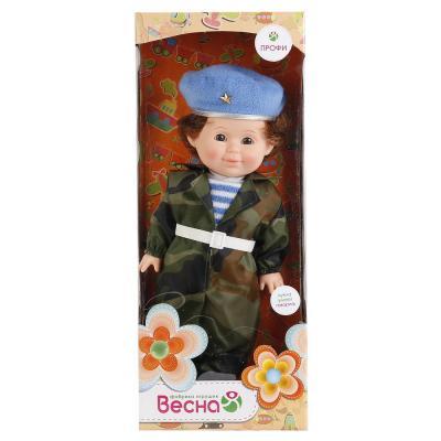 Кукла ВЕСНА Митя Военный 34 см со звуком В1970/о кукла весна 35 см