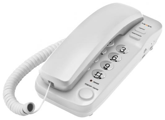 Телефон проводной Texet TX-226 серый