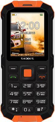 """Мобильный телефон Texet TM-501R оранжевый черный 2.4"""""""