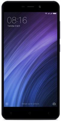 Смартфон Xiaomi Redmi 4A серый 5 16 Гб LTE Wi-Fi GPS 3G REDMI4AGRGD16GB смартфон philips xenium s327 синий 5 5 8 гб lte wi fi gps 3g