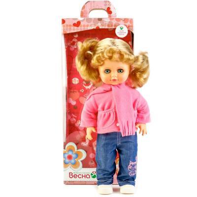 Кукла ВЕСНА Инна 38 43 см со звуком В1919/о кукла весна герда 14 38 см со звуком в3008 о