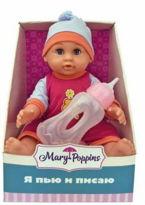 """Кукла Mary Poppins Минни """"Я пью и писаю"""" 25 см пьющая 451141"""