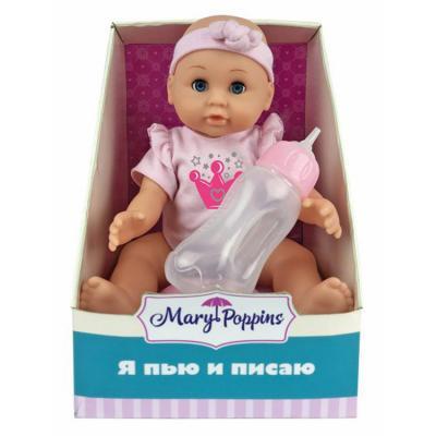 """Кукла Mary Poppins Минни """"Я пью и писаю"""" 25 см пьющая писающая 451139 от 123.ru"""