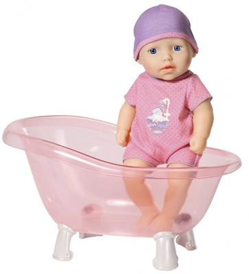 Кукла ZAPF Creation Baby Annabell с ванночкой 30 см zapf creation zapf creation baby annabell 794 340 бэби аннабель кроватка переноска для куклы 36 см