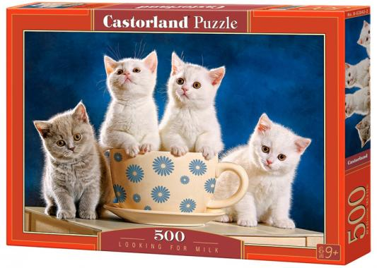 Пазл 500 элементов Кастор Четыре котенка B-52042