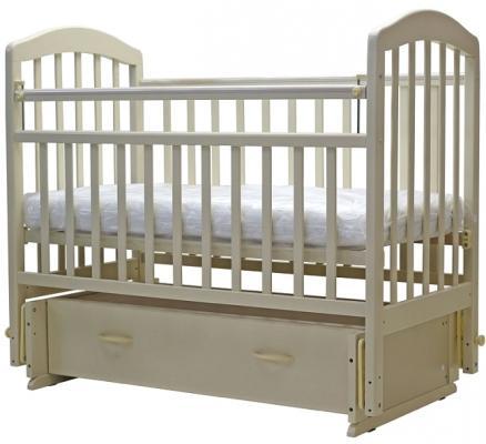 Кроватка с маятником Топотушки Лира-7 (арт. 30/орех карамель)
