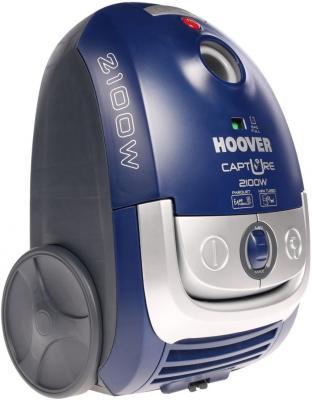 Пылесос Hoover TCP 2120 019 сухая уборка синий hoover tcp 2120 019
