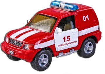 Машина Пламенный мотор 1:36 Mitsubishi Пожарная охрана, свет, звук, откр.двери, 13см 870205 машина пламенный мотор mitsubishi полиция 870105