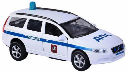 Машина Пламенный мотор Volvo V70 ДПС 13 см белый 870082 машина пламенный мотор mitsubishi полиция 870105
