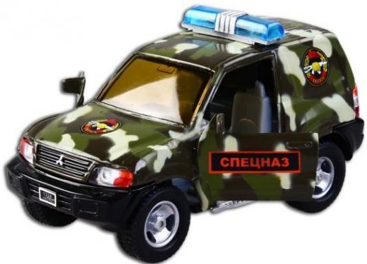 Машина Пламенный мотор Mitsubishi Спецназ 13 см камуфляж 870201 машина пламенный мотор mitsubishi полиция 870105