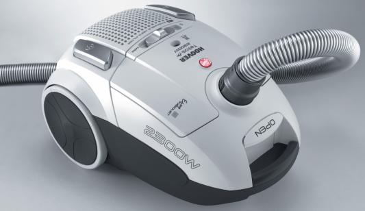 Пылесос Hoover TTE 2304 019 сухая уборка серебристый робот пылесос iclebo arte сухая уборка серебристый