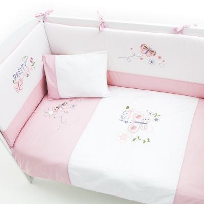 Постельный сет 5 предметов 120х60см Fiorellino Pretty постельный сет 7 предметов 120х60см giovanni shapito bonny bunny