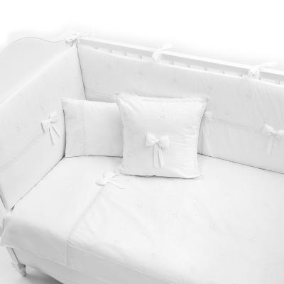 Постельный сет 5 предметов 120х60см Premium Baby (белый) постельный сет 7 предметов 120х60см giovanni shapito bonny bunny