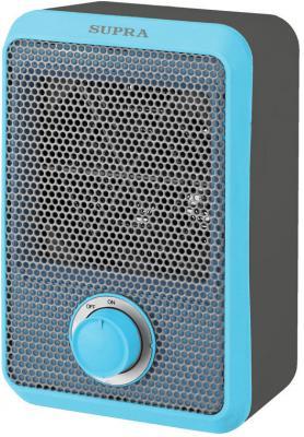 Тепловентилятор Supra TVS-F08 800 Вт серый синий термовентилятор supra tvs 15pn black
