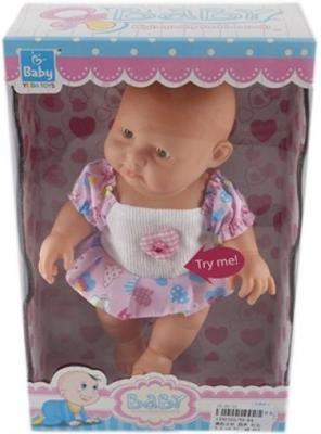 Купить Пупс Shantou Gepai девочка 22 см со звуком YD-64, пластик, Классические куклы и пупсы