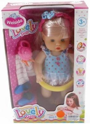 Кукла Shantou Gepai Даша в купальном костюме 30 см 6620-9