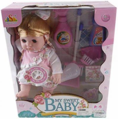 Кукла Shantou Gepai Ирена 35 см со звуком 13019 кукла весна 35 см