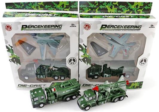 """Набор Shantou Gepai """"Военная техника"""" зеленый в  ассортименте 452A1"""