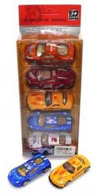 Набор Shantou Gepai разноцветный  2026-2 набор машинок коллекционных playsmart р41290