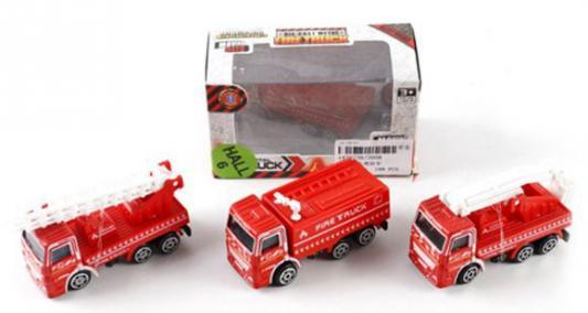 Купить Пожарная машина Shantou Gepai металлическая, в ассортименте 2008, красный, Игрушечные машинки