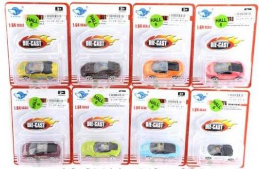 Фото - Инерционная машинка Наша Игрушка Машина 1:64 цвет в ассортименте JP2242A yellow 5310 инерционная машинка мстители 1 16 3 шт в ассортименте