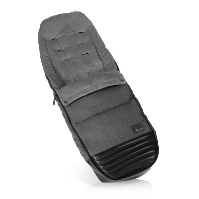 Накидка на ножки в коляску Cybex Priam (manhattan grey) комплект задних колес для коляски cybex priam all terrain matt black
