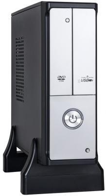 Корпус mini-ITX Exegate MI-206L Без БП чёрный серебристый EX249494RUS