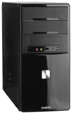 Корпус microATX Exegate QA-401 Без БП чёрный EX256035RUS