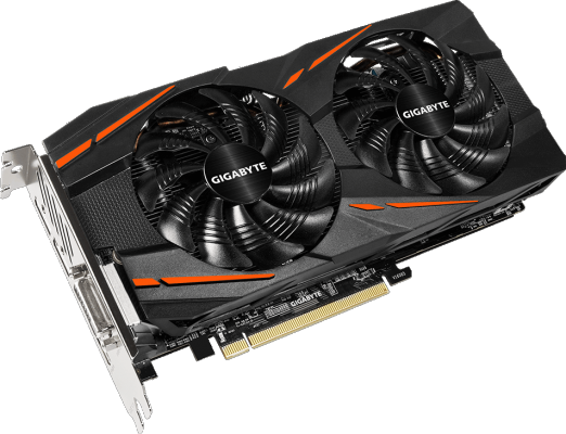 Видеокарта GigaByte Radeon RX 580 GV-RX580GAMING-8GD PCI-E 8192Mb GDDR5 256 Bit Retail (GV-RX580GAMING-8GD)