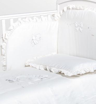 Постельный сет Italbaby Sweet Angels (белый/100.0081-5) постельный сет italbaby teddy крем 100 0019 6