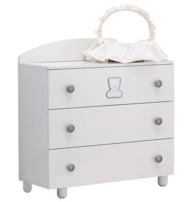 Комод бельевой Baby Expert Amore (белый)