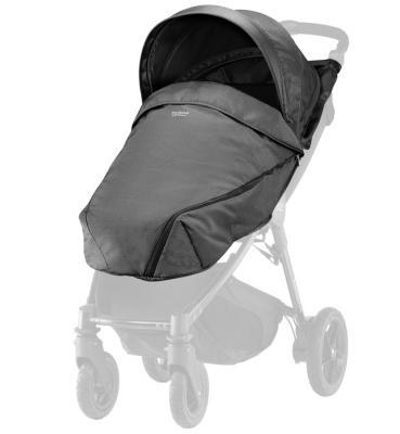 Купить Капор и накидка для коляски Britax B-Agile/B-Motion 4 Plus (black denim), Сменные комплекты