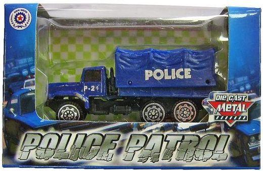 Полицейский пикап Pioneer Полицейская техника синий 102P-24 сабвуфер pioneer ts w106m 250вт 1100вт 4ом