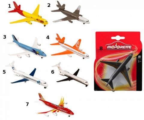 Самолет Majorette Пассажирский самолет в ассортименте 13 см ассортимент 205312