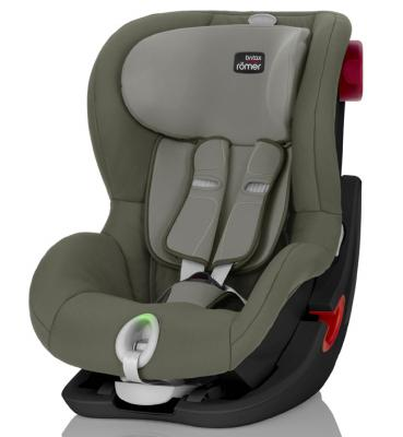 Автокресло Britax Romer King II LS Black Series (olive green trendline) детское автокресло king ii ls fire red trendline