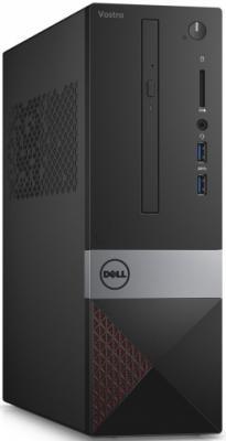 Системный блок DELL Vostro 3268 SFF i5-7400 3.0GHz 8Gb 256Gb SSD HD630 DVD-RW Linux клавиатура мышь черный 3268-8213