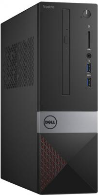 Системный блок DELL Vostro 3268 SFF i3-7100 3.9GHz 4Gb 500Gb HD630 DVD-RW Win10Pro клавиатура мышь черный 3268-8206