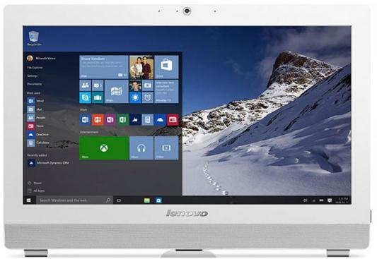 Моноблок 19.5 Lenovo S200z 1600 x 900 Intel Celeron-J3060 4Gb 500 Gb Intel HD Graphics 400 Windows 10 Home белый 10K50022RU b173rw01 v 3 glossy b173rw01 v3 laptop lcd screen hd 1600 900 display matrix