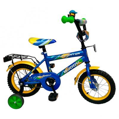"""Велосипед Navigator Buddy 12"""" сине-желтый"""