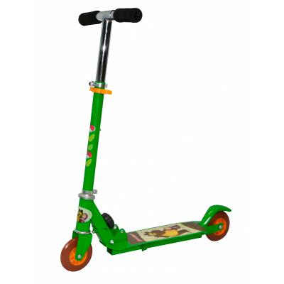 Самокат Navigator Маша и Медведь зеленый велосипед навигатор patriot цвет зеленый navigator