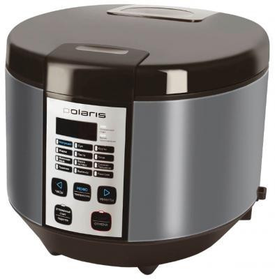 Мультиварка Polaris PMC 0558AD кофе серебристый 700 Вт 5 л мультиварка polaris pmc 0367ad черный