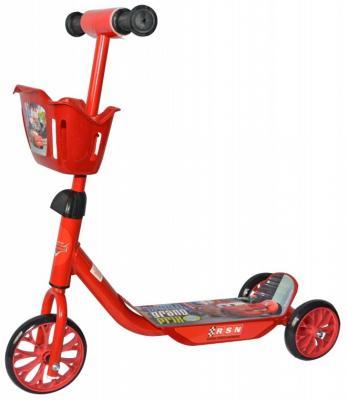 Самокат 1TOY Disney Тачки 6/5 красный самокат трехколесный 1 toy т57644 peppa