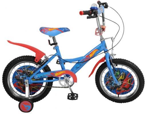 Велосипед Navigator Hot Wheels 16 сине-оранжевый велосипед двухколесный navigator superman 12 вн12100