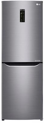 Холодильник LG GA-B389SMQZ серый холодильник lg ga b389smqz