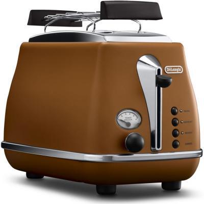 Тостер DeLonghi CTOV2103 коричневый