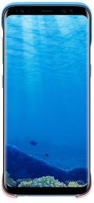 Чехол Samsung EF-MG950CLEGRU для Samsung Galaxy S8 2Piece Cover голубой/персиковый чехол samsung ef mg955cvegru для samsung galaxy s8 2piece cover зеленый фиолетовый