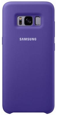 Чехол Samsung EF-PG955TVEGRU для Samsung Galaxy S8+ Silicone Cover фиолетовый аксессуар чехол samsung galaxy s8 plus silicone cover purple ef pg955tvegru