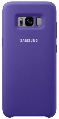 Чехол Samsung EF-PG955TVEGRU для Samsung Galaxy S8+ Silicone Cover фиолетовый samsung glitter cover ef xn920clegru blue