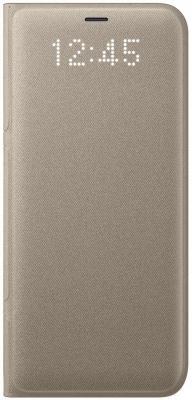 Чехол Samsung EF-NG950PFEGRU для Samsung Galaxy S8 LED View Cover золотистый