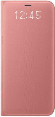 Чехол Samsung EF-NG955PPEGRU для Samsung Galaxy S8+ LED View Cover розовый чехол для сотового телефона samsung galaxy s8 led view cover black ef ng955pbegru